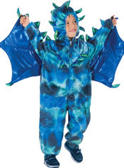 Boys Sully The Dragon Costume Deluxe