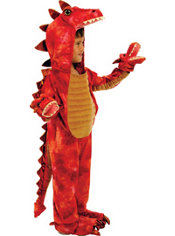 Boys Hydra 3-Headed Dragon Costume Deluxe