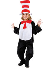 Child Cat in the Hat Jumpsuit Costume – Dr. Seuss