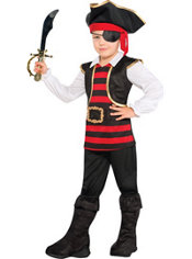 Toddler Boys Little Looter Pirate Costume