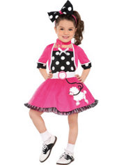Toddler Girls Doo Wop Darling Costume