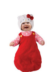 Baby Hello Kitty Costume Baby Bunting