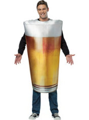 Adult Get Real Beer Pint Costume