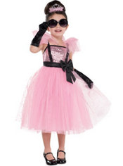 Girls Glam Princess Tutu Costume
