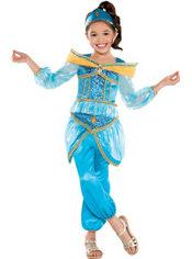 Girls Jasmine Costume