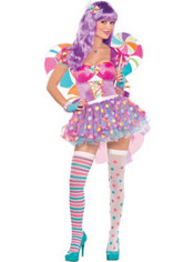 Adult Candy Shop Fairy Costume