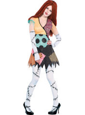 Adult Rag Doll Sally Costume - The Nightmare Before Christmas