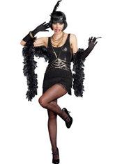 Adult Ain't Misbehavin' Flapper Costume