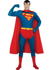 Adult Second Skin Superman Costume