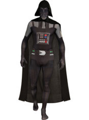 Adult Second Skin Darth Vader Costume