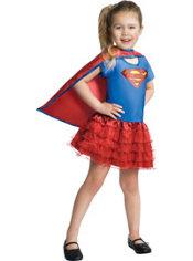 Toddler Girls Tutu Supergirl Costume - Superman