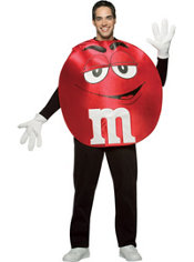 Adult Red M&M's Costume