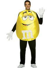 Adult Yellow M&M's Costume