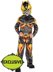 Boys Bumblebee Costume - Transformers 4