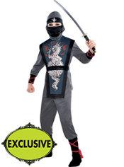 Boys Death Ninja Costume