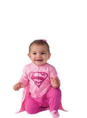 Baby Supergirl Costume - Superman