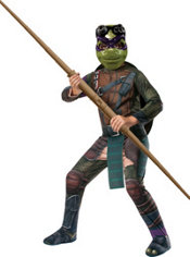 Boys Donatello Costume Premium - Teenage Mutant Ninja Turtles