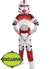 Boys Shock Trooper Costume - Star Wars