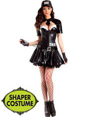 Adult SWAT Body Shaper Costume