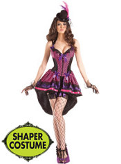 Adult Burlesque Body Shaper Costume