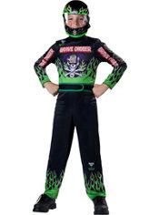 Boys Grave Digger Driver Costume - Monster Jam