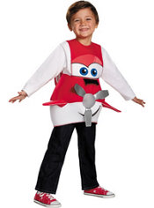 Toddler Boys 3D Dusty Costume - Planes: Fire & Rescue