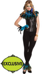 Adult Stunning Peacock Costume