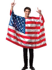 Adult American Flag Tunic