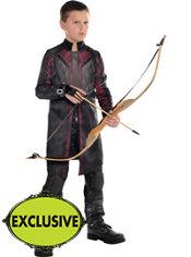 Boys Hawkeye Costume - Avengers: Age of Ultron