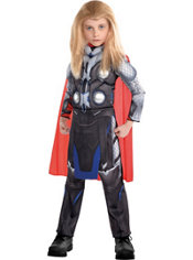 Boys Small Thor Muscle Costume - Avengers: Age of Ultron