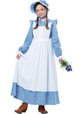 Girls Pioneer Costume