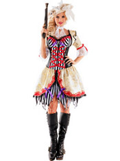Adult Seven Seas Buccaneer Body Shaper Costume