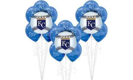 Mlb kansas city royals party supplies party city for Craft stores in kansas city