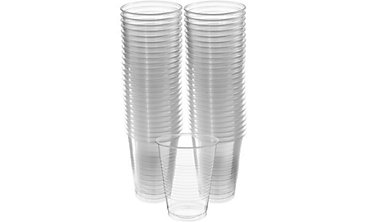 CLEAR Plastic Cups 16oz 50ct