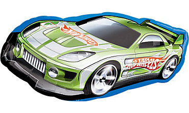 Foil Hot Wheels Racer Balloon 36in