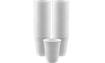 White Plastic Cups 16oz 50ct