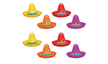 Fiesta Mini Sombreros 8ct