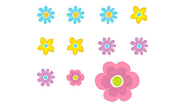 Spring Cutouts 50ct
