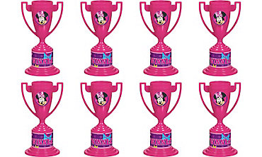 Minnie Mouse Trophies 8ct