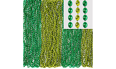 Green Bead Necklaces 100ct