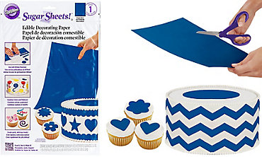 Bright Blue Sugar Sheet