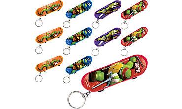 TMNT Skateboard Key Chains 48ct