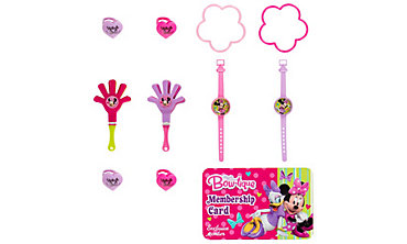 Minnie Mouse Favor Pack 100pc