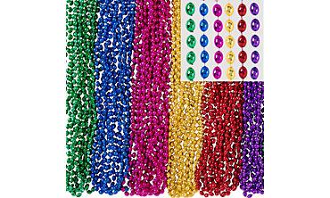 Multicolor Bead Necklaces 100ct