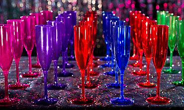 Bright Champagne Flutes