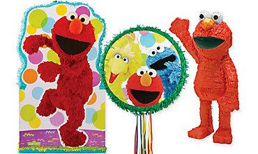 Sesame Street Pinatas