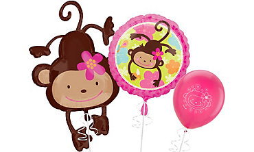 Monkey Love Balloons