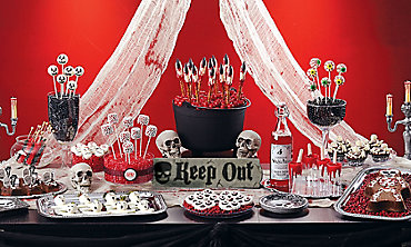 Scary Halloween Sweets & Treats