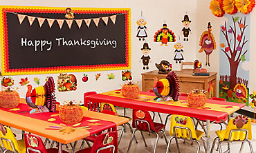 Thanksgiving Classroom Party