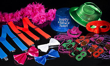 New Year's Eve Color City Wearables & Accessories
